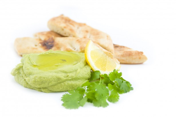 Avocado Cilantro Hummus by Chef Joy Houston