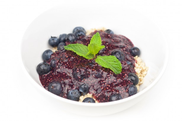 Chia Jam Raw Food Recipe