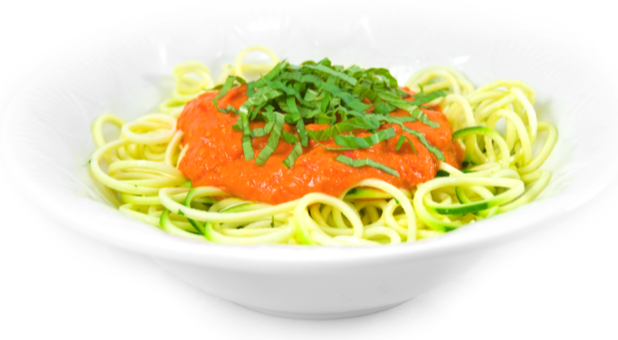 Zucchini pasta weight loss tip and raw food recipe the delicious as forumfinder Images