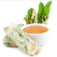 Thai Fresh Spring Rolls by Chef Joy Houston