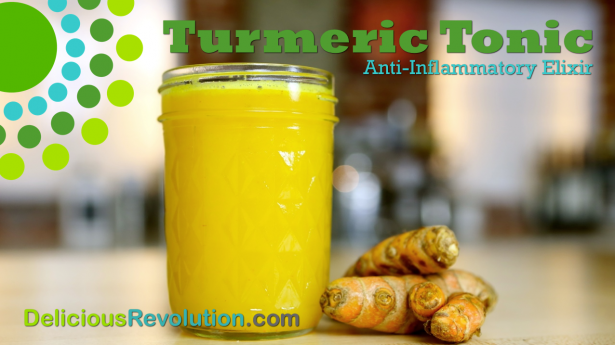 Turmeric Tonic Recipe by Chef Joy Houston